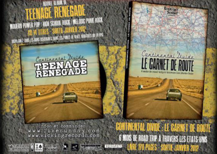 TEENAGE RENEGADE – carnet de route