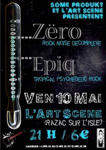 affiche zero + epiq