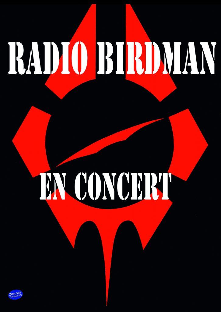 AFFICHE RADIO BIRDMAN